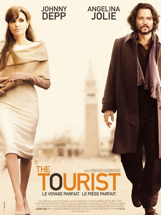 The Tourist... in a world where everything pretends to be what it is not... only the true remains... and Angelina is just Angelina... and Deep helps