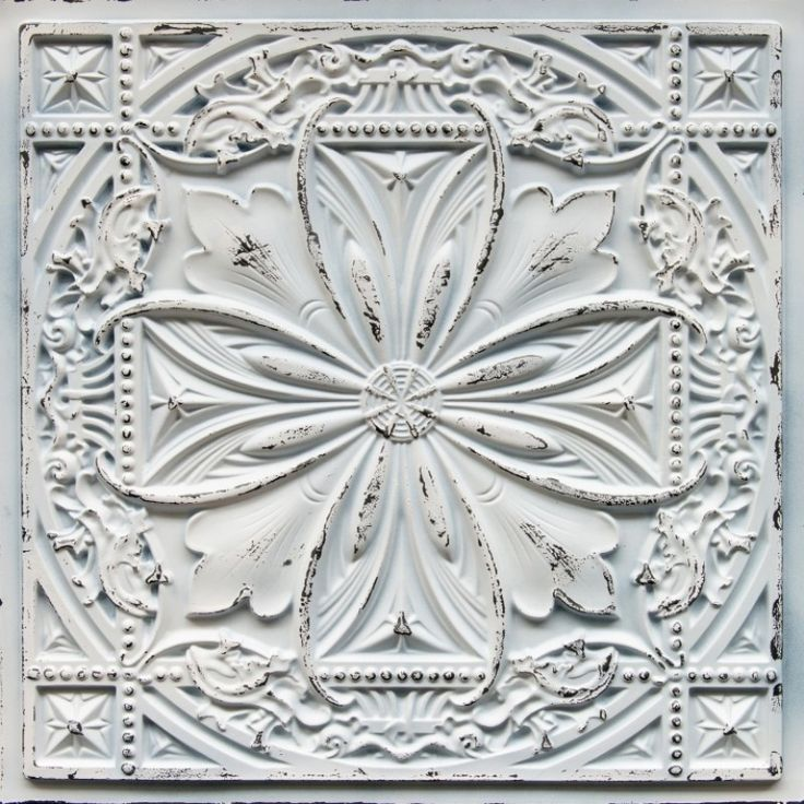 Decorative Ceiling Tiles, Inc. Store - Faux Tin Ceiling Tile - 24 x 24 -