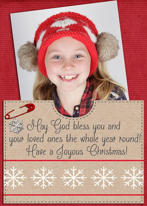 Christmas Photo Card personalised digital & by MKLiveLaughLoveShop, $7.00