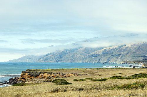 Costa del Pacífico. CALIFORNIA HIGHWAY 1