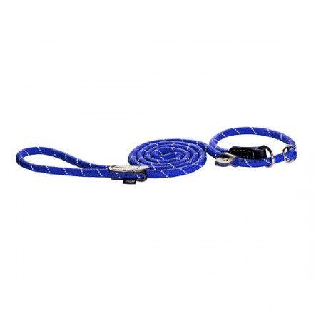 Rogz Rope Blue Moxon lead 180cm Large - Rogz dog lead Rogz dog lead large - globaldogshop.com