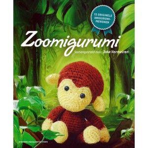 Zoomigurumi, leuk boek met dieren uit de dierentuin. #haken #amigurumi
