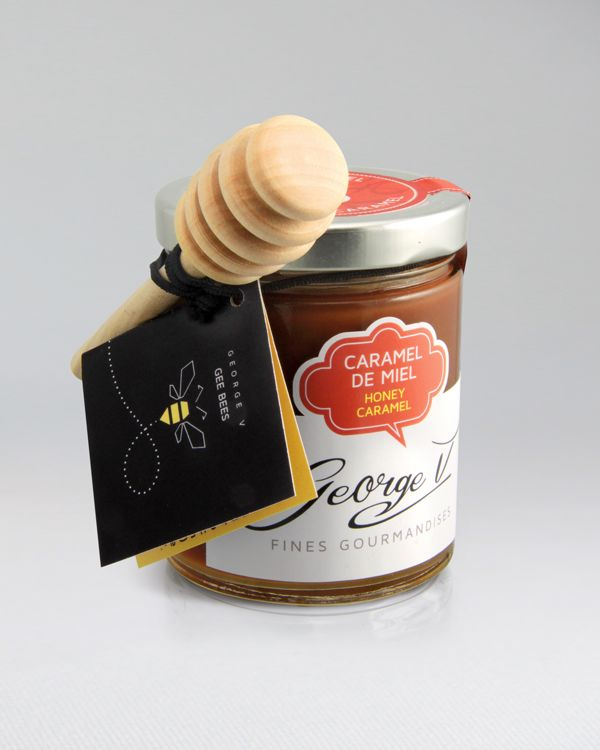 Caramel de miel urbain de nos G-bees www.legeorge-v.com