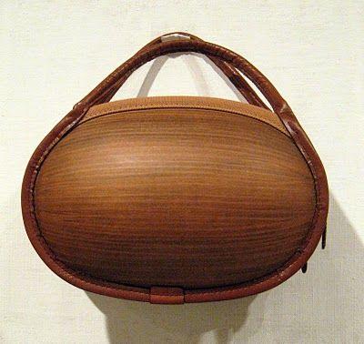 Japanese wooden bag