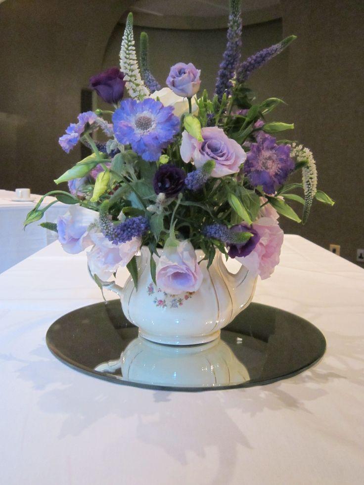 Best images about teapot centerpieces on pinterest