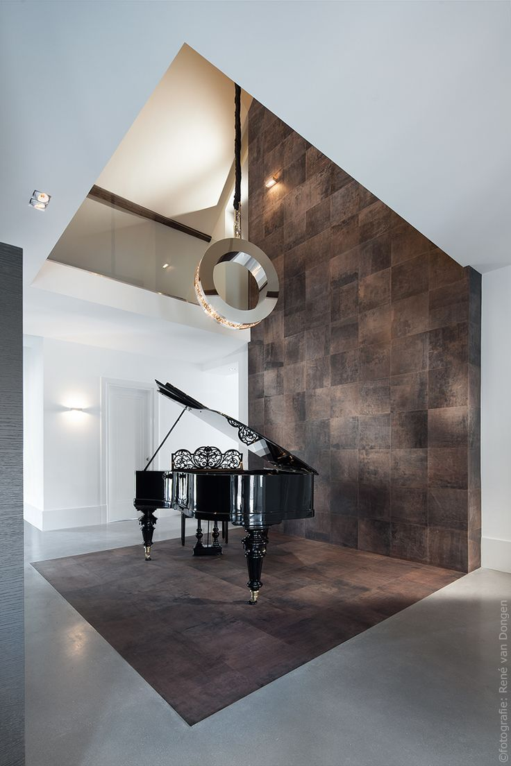 warm leather flooring