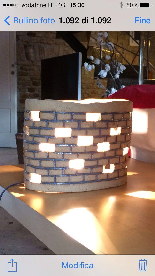 Lampada castello