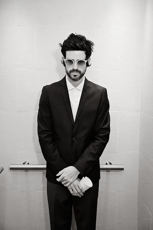 Devendra Banhart wearing Panamá Sottobosco Super Sunglasses