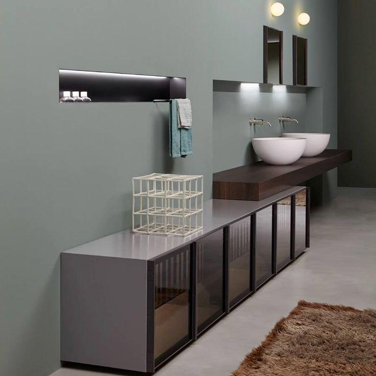 Each datay for this private bathroom was individually designed ... Antoniolupi Bu özel banyo için her datay ayrı ayrı tasarlanmıştır ... Antoniolupi