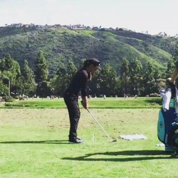 From @golfmaiko - Danielle Kang  #golf #golfswing #golfing #golfer #golfpractice #golflover #golfday #golfstagram #golfgirl #golfgirls #golflife #golfdigest #lpga #womensgolf @lpga_tour @road2lpga