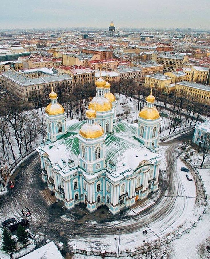 SAINT NICOLAS CATHEDRAL~ Saint Petersburg, Russia.