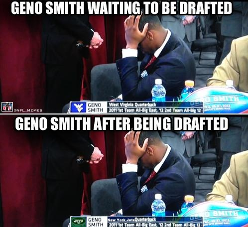 Jets draft Geno Smith!