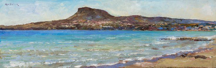 Kiani, Oil on canvas by Jonny Andvik