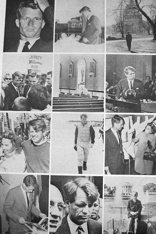 """United States Attorney General Mr~~Robert Francis Kennedy (November 20, 1925 – June 6, 1968), commonly known as """"Bobby"""" or by his initials RFK, was an American politician from Massachusetts. He served as a Senator for New York from 1965 until his assassination in 1968. He was previously the 64th U.S. Attorney General from 1961 to 1964, serving under his older brother, President John F. Kennedy. ♡❀♡❀♡❀♡✿♡❁♡✾♡✽♡  http://en.wikipedia.org/wiki/Robert_F._Kennedy"""