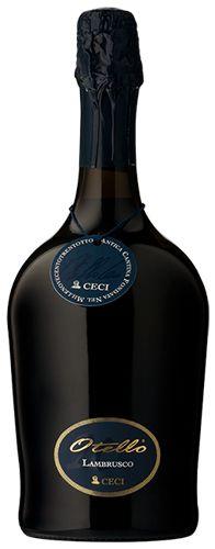 Lambrusco Otello Etichetta Nera - Ceci – Emilia Romagna http://www.italiaworldwide.com/eng/beverage/wines/region/eilia-romagna/vino-lambrusco-otello-etichetta-nera-emilia-romagna.html