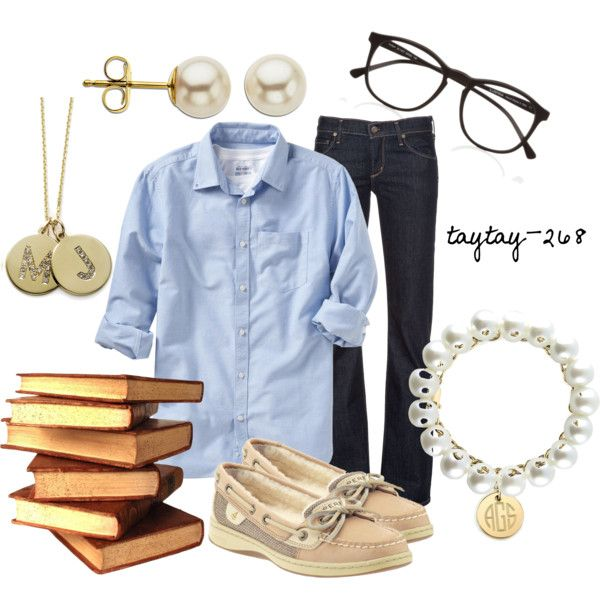 """OOTD 1/11/13: Casual Teacher"" by taytay-268 on Polyvore"