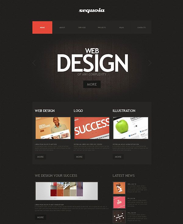 11 best New web templates for you to choose! images on Pinterest