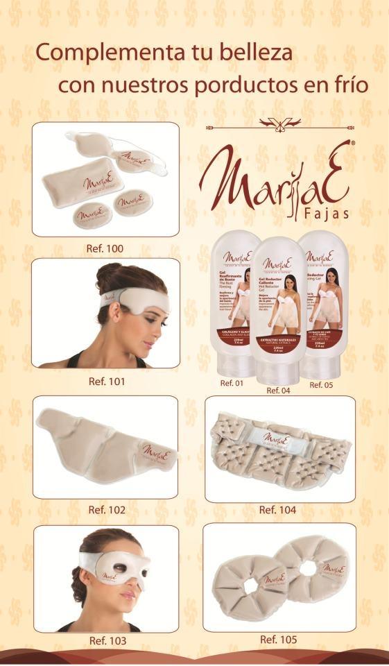 Crioterapia MariaE - No Solo vendemos fajas de la mejor calidad sino tambien productos complementarios para tu belleza. ingresa a www.fajasmariae.com