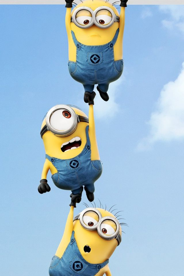 2013 Despicable Me 2 Minions #iPhone #4s #Wallpaper