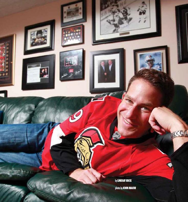 Stuntman Stu, the PA announcer at Senators games and, depending on who you talk to, a semi-successful Ottawa radio host. ;-P