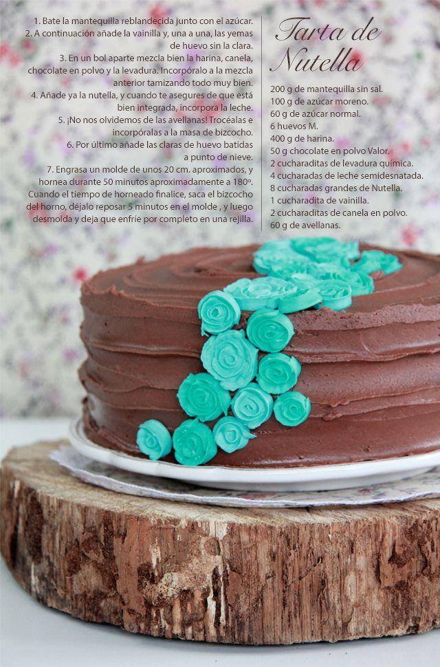 Tarta de Nutella/Nutella cake