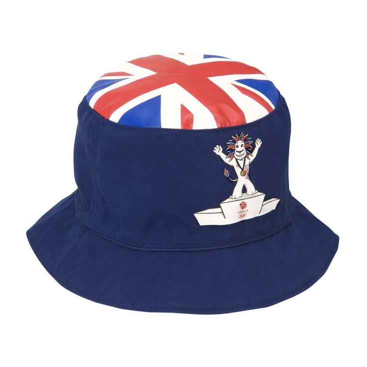 Team GB Olympic Pride lion infant's bucket hat.