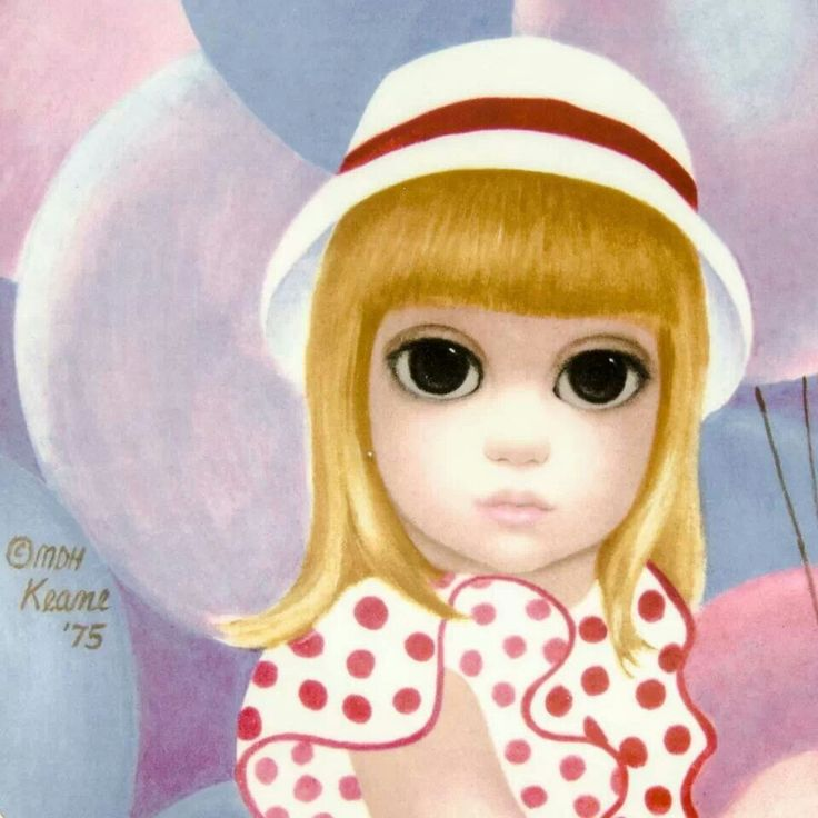 Margaret Keane - This one looks like the doll.