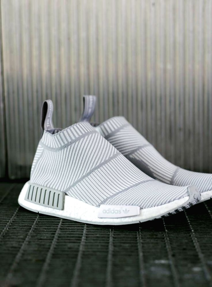 "SPORTSWEAR ™®: ADIDAS NMD CITY SOCK ""WHITE/GREY""."