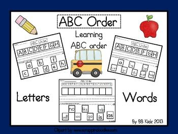 33 Best Images About ABC Order On Pinterest
