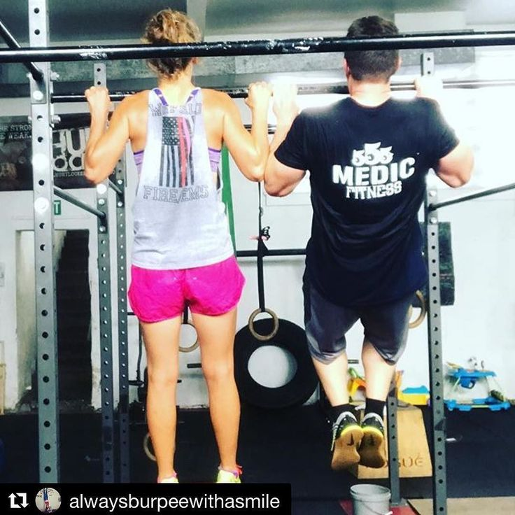 """FIREFIGHTER FITNESS  #Repost @alwaysburpeewithasmile  """"Hotshots 19"""" with my very own firefighter today! We did all of our pull-ups like this (j/k). We suffered but no suffering can compare to what they endured.     Want to be featured? Show us how you train hard and do work   Use #555fitness in your post. You can learn more about us and our charity by visiting WWW.555FITNESS.ORG  #fire #fitness #firefighter #firefighterfitness #firehouse #buildingastrongerbrotherhood #workout #ems #engine…"""