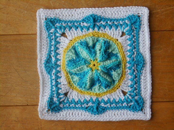Häkeln, stricken und alles was Spaß macht!: Teil 1 + 2 Bettüberwurf - Die Entstehung einer Granny-Decke - keines wie das andere!