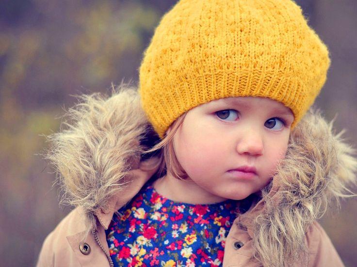 Cute Girl Look Crossing