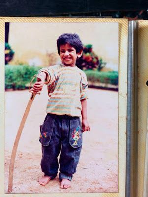 Childhood Images of Dulquer Salmaan