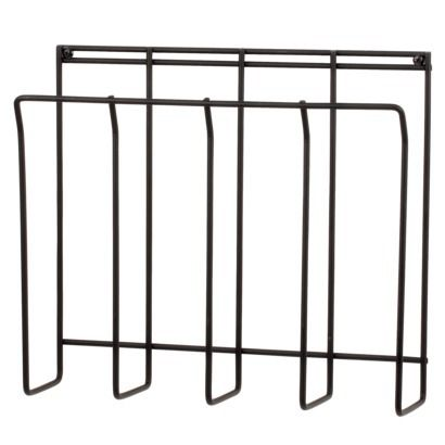 Wall Mount Wire Magazine Rack - Black  Rating: 4 out of 5 stars 1 reviews  $12.99