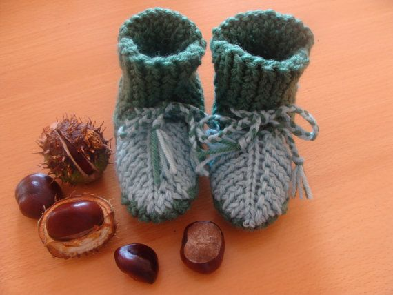 USD 19.5 Baby Booties Knitting, Wool Baby Booties, Hand Knit, Cute Booties, Slippers, Gift for Newborn, Wool Baby Shoes