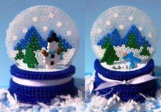 3d-perler-bead-snowg | REPINNED