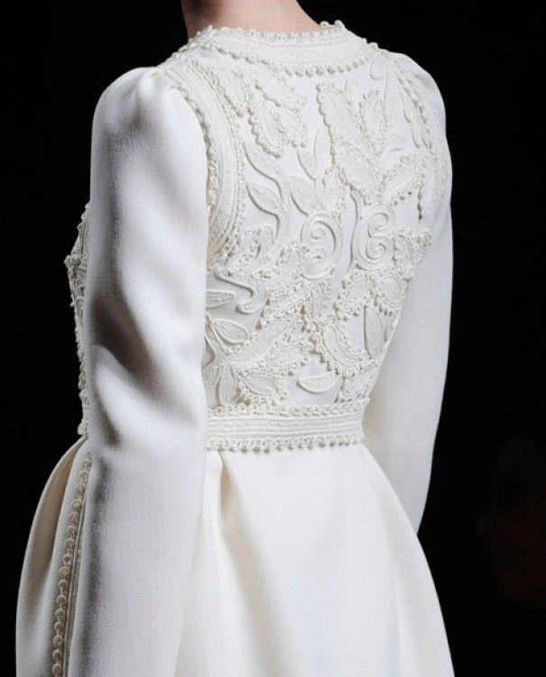 White coat - Valentino Fall 2012