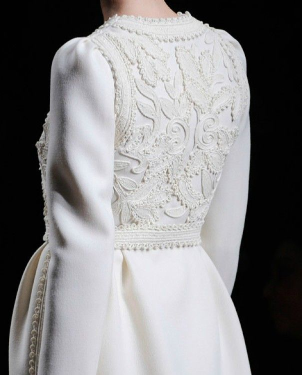 White coat - Valentino Fall 2012