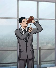 """This classic Archer behaviour: 