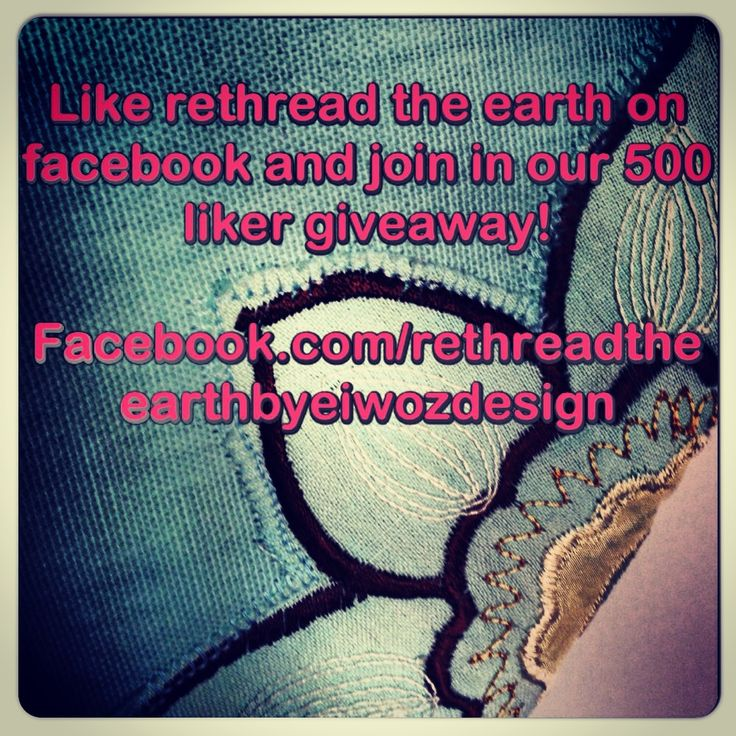 Help Rethread the Earth reach 500 likers and take part in a gorgeous giveaway!