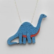 Apatosaurus Necklace
