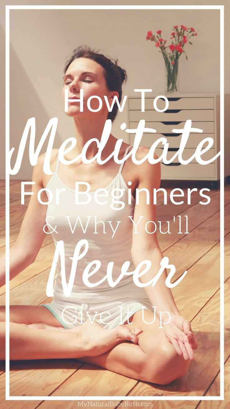 I have seen instant benefits of meditation, calmer mind, less anxiety and depression, greater clarity in my life, better ability to focus; I wish I'd started sooner! http://mynaturalbabybirth.com/meditate