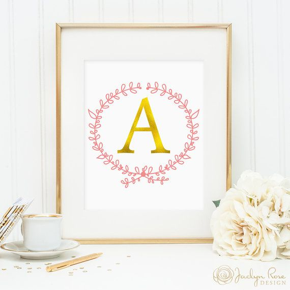 Monogram Wall Decor Ideas : Best ideas about initial wall art on
