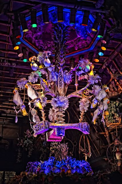 Enchanted Tiki Room extravaganza