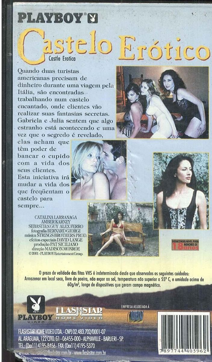 Vhs Castelo Erótico Playboy Video Raro - R$ 28,00 no MercadoLivre