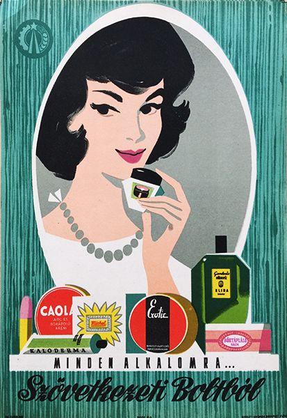 For All Occasions...Cooperative store / Minden alkalomra...Szövetkezeti boltból 1961