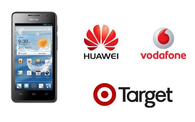 Target - Vodafone - Huawei Ascend G526