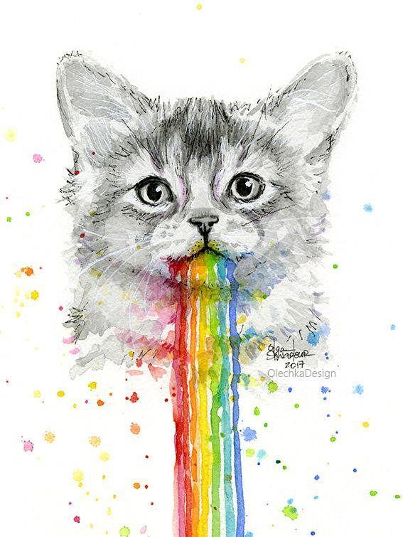 99029f951e64 Kitten Vomits Rainbows
