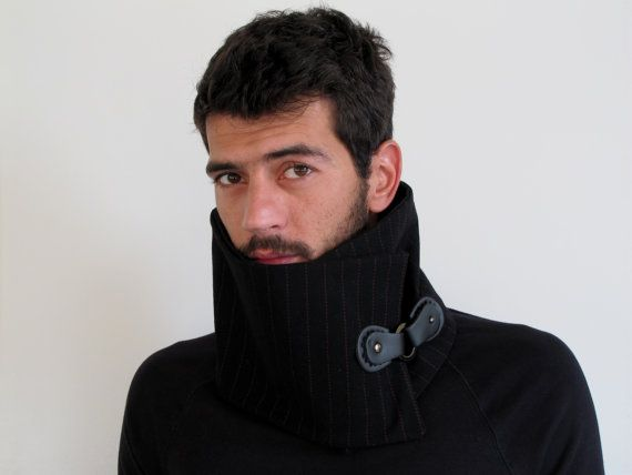 how to wear a snood on your head