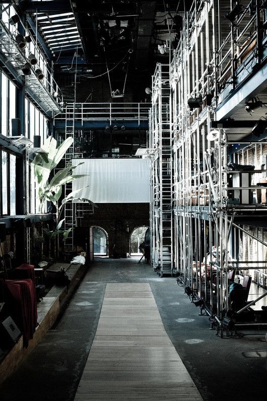 Teatro Oficina, projetado por Lina Bo Bardi em 1991. Image © Melissa Aidar
